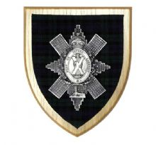 The Black Watch - Wall Plaque
